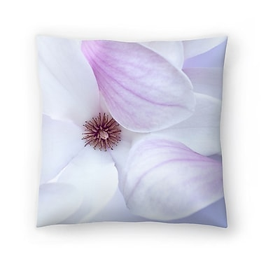 East Urban Home Maja Hrnjak Magnolia Throw Pillow; 16'' x 16''