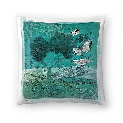 East Urban Home Paula Mills Wilderness Throw Pillow; 20'' x 20''
