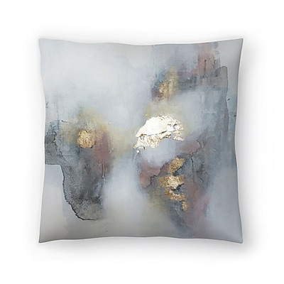 East Urban Home Christine Olmstead Rose3 Throw Pillow; 14'' x 14''