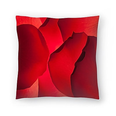 East Urban Home Maja Hrnjak Petals Throw Pillow; 20'' x 20''