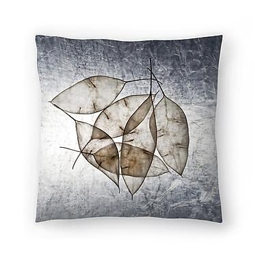 East Urban Home Maja Hrnjak Leaves5 Throw Pillow; 16'' x 16''