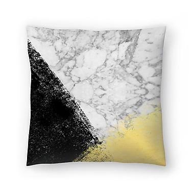 East Urban Home Charlotte Winter Genni Throw Pillow; 18'' x 18''