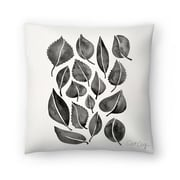 East Urban Home Cat Coquillette Fall Leaves Throw Pillow; 20'' x 20''