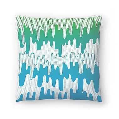 East Urban Home Joe Van Wetering Trippy Drippys Throw Pillow; 14'' x 14''