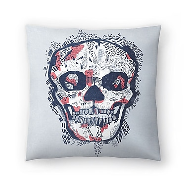 East Urban Home Tracie Andrews Scars Throw Pillow; 14'' x 14''