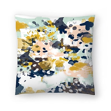 East Urban Home Charlotte Winter Sloane Throw Pillow; 16'' x 16''