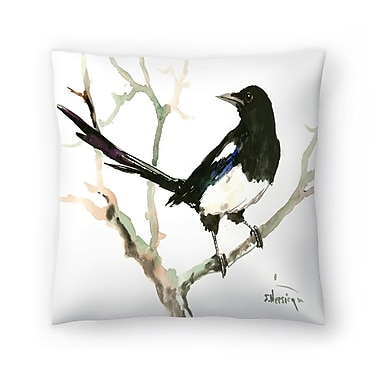 East Urban Home Suren Nersisyan Magpie 4 Throw Pillow; 14'' x 14''