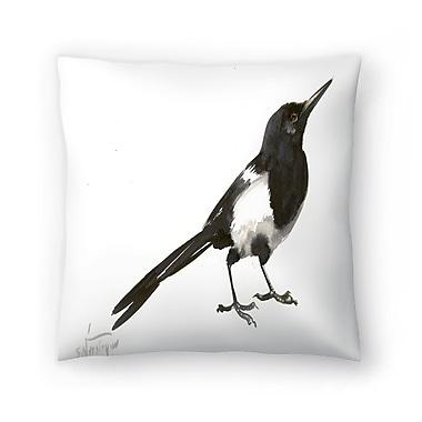 East Urban Home Suren Nersisyan Magpie 5 Throw Pillow; 18'' x 18''