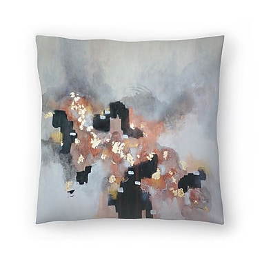 East Urban Home Christine Olmstead Just Peachy Throw Pillow; 16'' x 16''