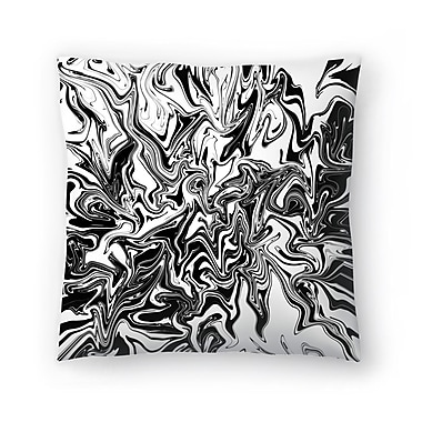 East Urban Home Tracie Andrews Obsius Throw Pillow; 16'' x 16''