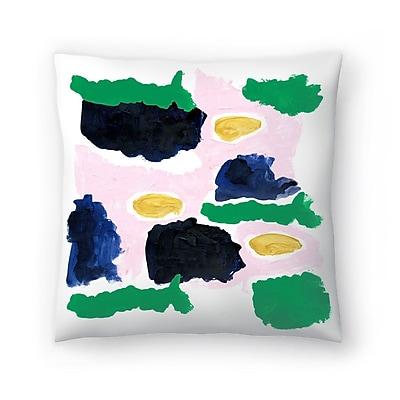 East Urban Home Charlotte Winter Imogen Throw Pillow; 18'' x 18''