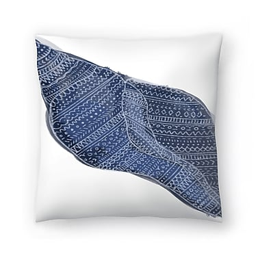 East Urban Home Jetty Printables Tribal Shell Art Throw Pillow; 20'' x 20''