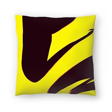 East Urban Home Kasi Minami Abstract Throw Pillow; 20'' x 20''