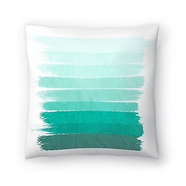 East Urban Home Charlotte Winter Ombre Throw Pillow; 20'' x 20''
