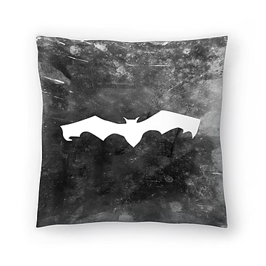 East Urban Home Jetty Printables Bat Halloween Throw Pillow; 20'' x 20''