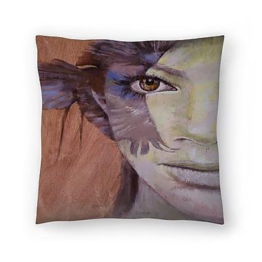 East Urban Home Michael Creese Huntress Throw Pillow; 16'' x 16''