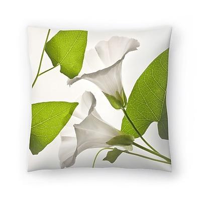 East Urban Home Maja Hrnjak Bell Flower1 Throw Pillow; 16'' x 16''