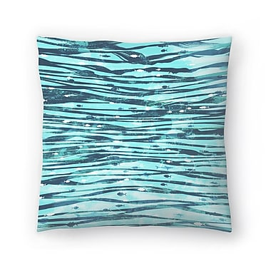 East Urban Home Tracie Andrews Slipstream Throw Pillow; 20'' x 20''