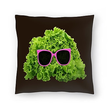 East Urban Home Florent Bodart Mr Salad Throw Pillow; 20'' x 20''