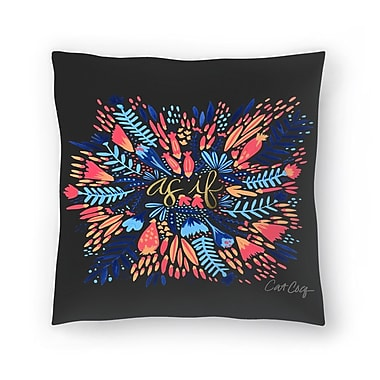 East Urban Home Cat Coquillette Asif Throw Pillow; 20'' x 20''