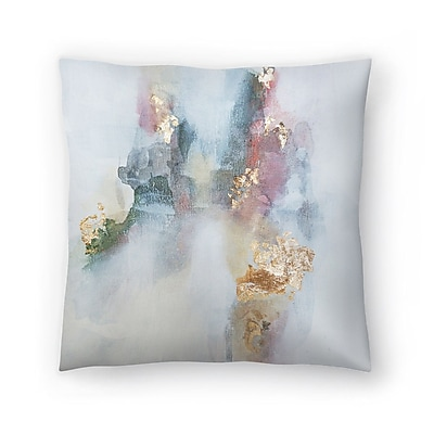 East Urban Home Christine Olmstead Rose1 Throw Pillow; 18'' x 18''