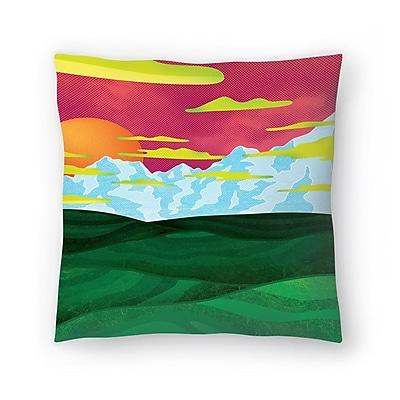 East Urban Home Joe Van Wetering Back Home Throw Pillow; 14'' x 14''