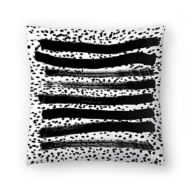 East Urban Home Charlotte Winter Iver Throw Pillow; 14'' x 14''