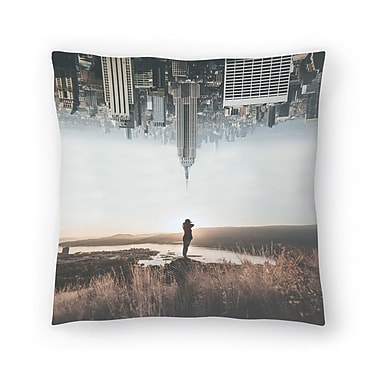 East Urban Home Luke Gram Between Earth and Sky Throw Pillow; 16'' x 16''