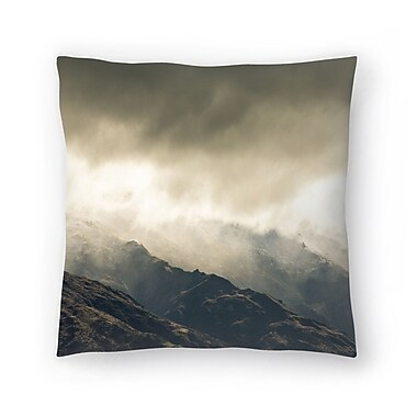 East Urban Home Luke Gram Wanaka New Zealand Throw Pillow; 14'' x 14''