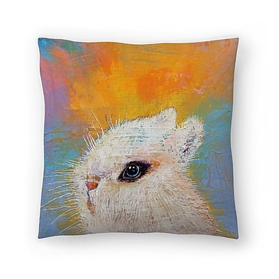 East Urban Home Michael Creese Rabbit Throw Pillow; 20'' x 20''