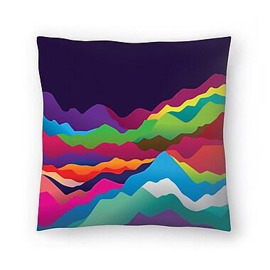 East Urban Home Joe Van Wetering Mountains of Sand Throw Pillow; 18'' x 18''