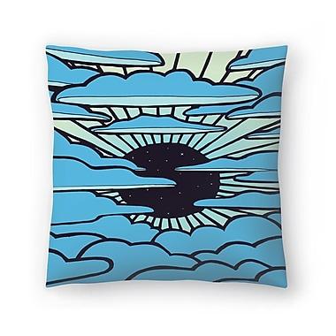 East Urban Home Joe Van Wetering New Sun Throw Pillow; 14'' x 14''
