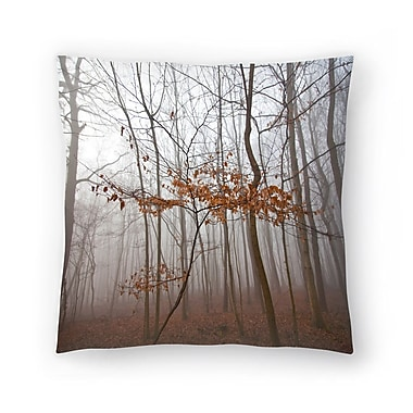 East Urban Home Maja Hrnjak Lonely Tree Throw Pillow; 16'' x 16''