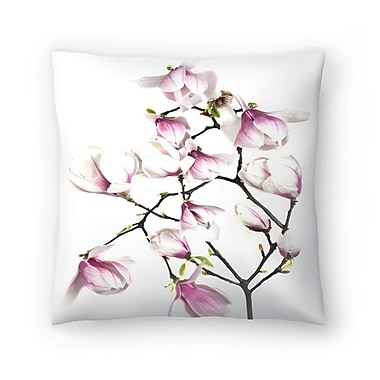 East Urban Home Maja Hrnjak Magnolia6 Throw Pillow; 14'' x 14''