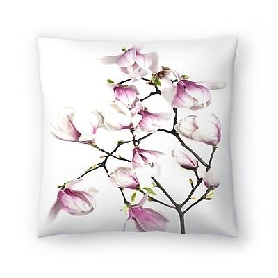 East Urban Home Maja Hrnjak Magnolia6 Throw Pillow; 16'' x 16''