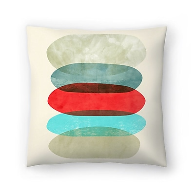 East Urban Home Tracie Andrews Underneath It All Throw Pillow; 18'' x 18''
