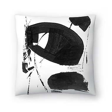 East Urban Home Olimpia Piccoli Without Words Iii Throw Pillow; 14'' x 14''