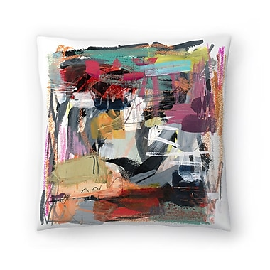 East Urban Home Olimpia Piccoli Pop Throw Pillow; 18'' x 18''