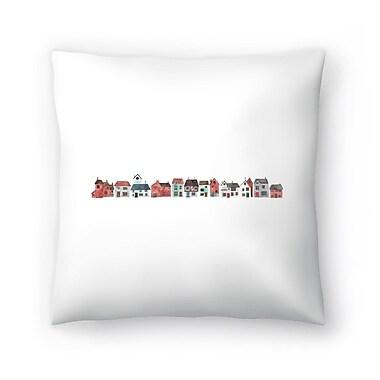 East Urban Home Elena O'Neill Street Throw Pillow; 18'' x 18''