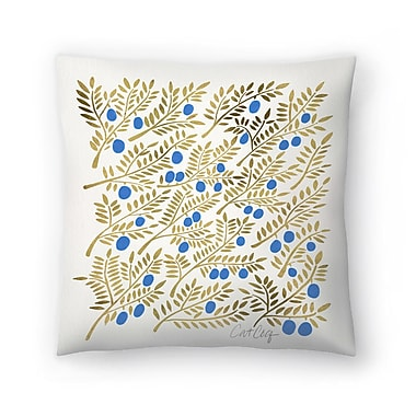 East Urban Home Cat Coquillette Branches Throw Pillow; 14'' x 14''