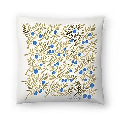 East Urban Home Cat Coquillette Branches Throw Pillow; 20'' x 20''