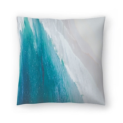 East Urban Home Luke Gram Ocean Gradient Throw Pillow; 20'' x 20''