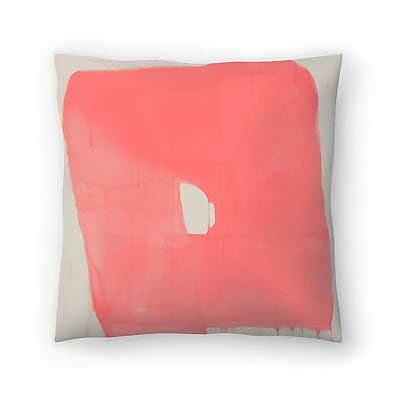 East Urban Home Kasi Minami Abstract Throw Pillow; 16'' x 16''