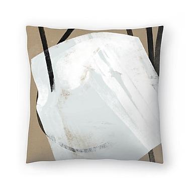 East Urban Home Kasi Minami Untitled 11 Throw Pillow; 14'' x 14''