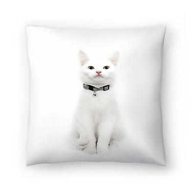East Urban Home Maja Hrnjak Cat Throw Pillow; 18'' x 18''