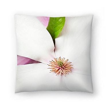 East Urban Home Maja Hrnjak Magnolia Throw Pillow; 18'' x 18''