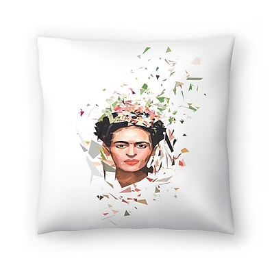 East Urban Home Tracie Andrews Frida Throw Pillow; 20'' x 20''