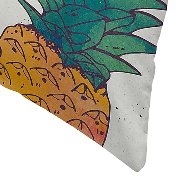 East Urban Home Tracie Andrews Fruity Throw Pillow; 20'' x 20''