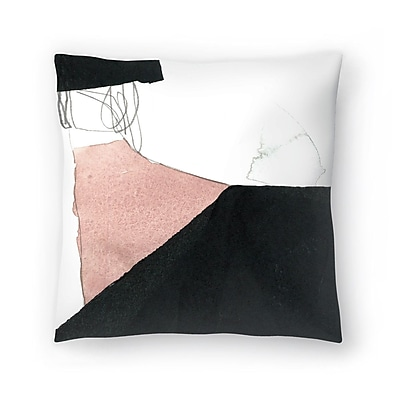 East Urban Home Olimpia Piccoli The Space Between I Throw Pillow; 18'' x 18''