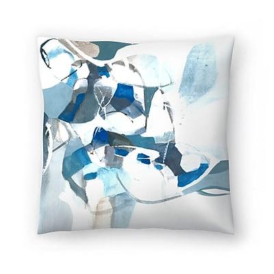 East Urban Home Olimpia Piccoli Tides Throw Pillow; 16'' x 16''